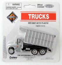 HO Scale International 3-Axle Coal Dump Truck - Gray - Boley #4115-66