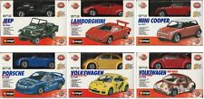 Bburago 1:43 Metal Kit Collection Diecast Cars YOUR PICK - CLEAREANCE