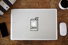 "Zumo de manzana Decal Sticker Para Apple Macbook air/pro Laptop de 12 ""de 13"" 15 """