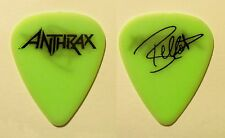 Anthrax Frank Bello Signature Neon Green Guitar Pick - 2004 Tour
