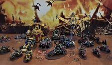Warhammer 40k Orks velocidad Freeks grande del ejército hecho a pedido Pro Pintado