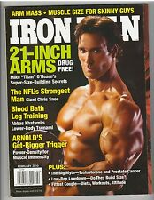 IronMan Body fitness muscle magazine/Mike O'Hearn 2-10