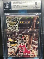 1993-94 Michael Jordan Topps Stadium Club Members Only #181 FF Graded BGS 9 Mint