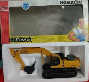 Joal Komatsu PC 450LC Diecast Excavator Articulated Truck 1:32 Scale Rubber Trax