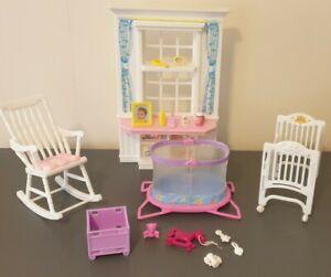 Barbie Krissy Nap n Play Nursery Playset 2001 Mattel