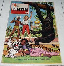 TINTIN 11/12 1958 N°529 HERGE TIBET FRANQUIN GORDON BENNETT FULGUR AVIATION ALIX