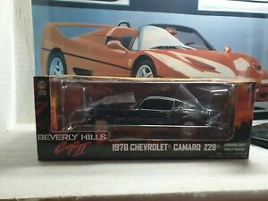 GREENLIGHT - BEVERLY HILLS COP II - PONTIAC TRANS AM - 1/18 SCALE MODEL CAR