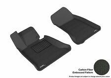 For 2004-2010 Bmw 5 Series R1 KAGU Carbon Pattern Black Custom Fit Floor Mat