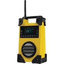 Akku Baustellenradio UKW Radio mit AUX und USB Anschluß inklusive Netzteil