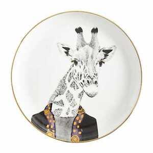 Pier 1 Imports Salad Plate Book Club Giraffe Safari Africa New