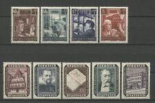 Wiederaufbau - Österreich - 960-963, 989-993 ** MNH 1951-1953