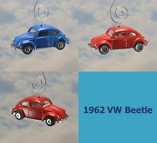 '62 Custom Volkswagen Beetle Christmas Ornament VW Bug 1/64 RARE Adorno Herbie