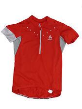 Odlo Ladies Bike Jersey Cycling Jersey Red Size XL