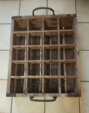 Bierkiste aus Holz - Antik - Bierkasten - Holzkasten - Biertragerl