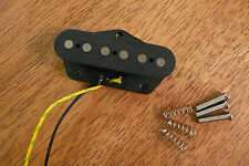 BRIDGE GUITAR PICKUP HIGH OUTPUT ALNICO 2 MAGNETS FOR TELECASTER