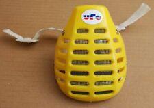 A saisir mentonnière UFO jaune pour casque jet BMX ou MX Old School Vintage 80's