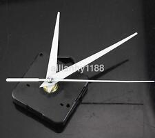 1 Pcs White Quartz Wall Clock Movement Mechanism Hands Repair Tool Parts Kit Us