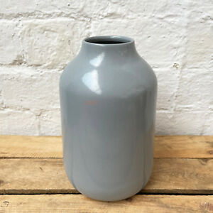 Modern Nordic Pastel Light Grey Home Decor Flower Tall Wide Bottle Vase Gift Art