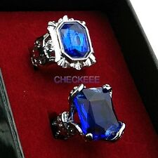 Black Butler Ciel Phantomhive New Type Sapphire Ring and Ciel II Blue Ring