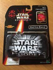 1998 Star Wars Episode 1 Sea Creatures Battle Bags, MIP Factory Sealed