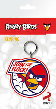ANGRY BIRDS RUBBER KEYRING - Official Game Merchandise Rovio Key Chain