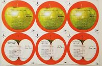 🍏THE BEATLES●1962-1966●APPLE●SKBO 3403●c1973●RECORD LABEL●RARE●READY TO FRAME🍏