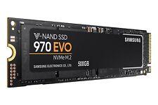 500GB SSD Samsung 970 EVO SSD M.2, 80mm, PCI-E (NVMe), zum Einbau in PC/Laptop