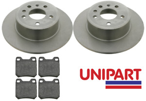 For Vauxhall - Vectra 1995-2002 Rear Brake Discs and Pads (5 Stud Wheels)