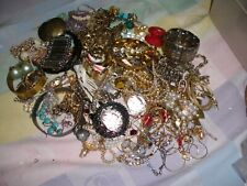 VINTAGE LOT JEWELRY NECKLACE, EARRINGS, BRACELETS-     (10)