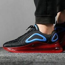 Nike Air Max 720 Black Red Blue Uk Size 8 Eur 42.5 AO2924-014