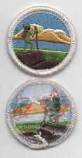"Hiking Merit Badge, Type L, ""Since 1910"" Back (2013-Current), Mint!"