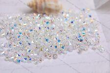 24 Clear AB 5mm Xilion Swarovski element bicone Crystal 001 # 5328 beads