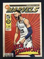 Ben Simmons 2019-20 Donruss Net Marvels Press Proof RARE
