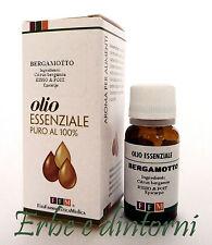 BERGAMOTTO Olio essenziale alimentare 10 ml - Psoriasi, eczemi, acne, emorroidi