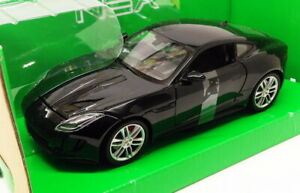 Welly 1/24-27 Scale Model Car 24060W - Jaguar F Type Coupe - Black