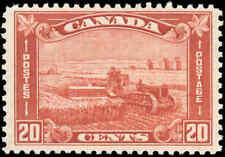 1930 Mint H Canada F+ Scott #175 20c King George V Arch/Leaf Stamp
