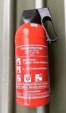 1x ABC Feuerlöscher 2kg  Bundeswehr MAN Unimog VW Bus Boot Wolf