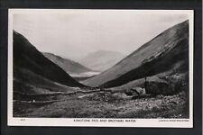 L@@K  Kirkstone Pass and Brothers Water Cumbria 1950 RP Postcard ~ NICE IMAGE
