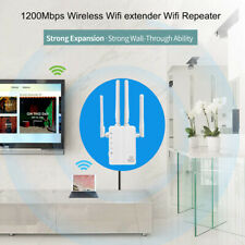 1200Mbps WiFi Repeater Range Booster Extender Router Signal Dual Band 2.4G/5GHz
