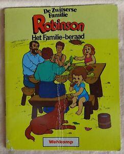 1986 DE ZWITSERSE FAMILIE ROBINSON Het familie-beraad WEHKAMP MINIBOEKJES