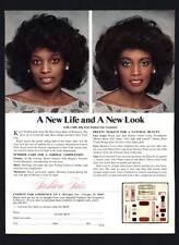 VINTAGE PRINT AD BLACK AMERICANA 1978 FASHION FLAIR COSMETICS NORMAL COMPLEXION