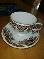 Vintage Colclough Royale Bone China England 8525 Teacup, Saucer and Side Plate
