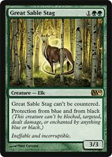 Grand Cerf-Zibeline - Great Sable Stag - Magic mtg -