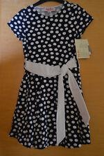 Käthe Kruse Kleid  Gr 122  Sommerkleid  blau weiss Punkte Neu