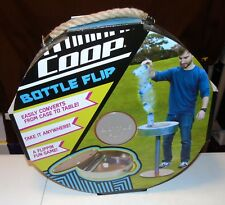 SWIMWAYS COOP BOTTLE FLIP PORTABLE GAME CONVERTS FROM CARRYING CASE TO TABLE NEW