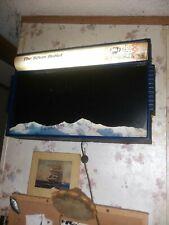 Rear Coors Silver Bullet Fluorescence Litter Writing Advertising Bulletin Board