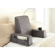 Carepeutic® Spine-Relax Backrest Bed Lounger Reading Pillow With Heated Comfort