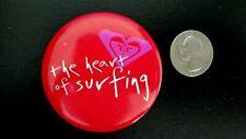 Roxy Aloha The Heart of Surfing Hawaii Surf Pinback
