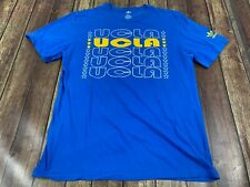UCLA Bruins Men's Blue Soft T-Shirt - Adidas - Large