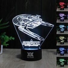 Star Trek USS Reliant 3D Acryl LED Tischlampe Nacht Lamp Nachtlicht  Geschenk
